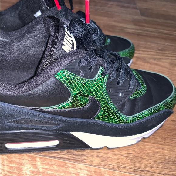 Nike Shoes   Air Max 9 Green Python